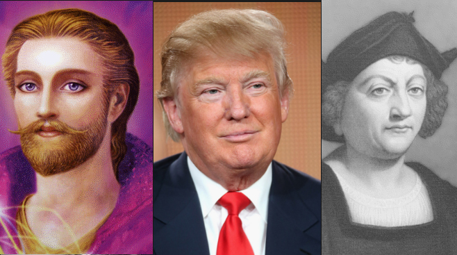 President Donald Trump is an aspect of Saint Germain who was also